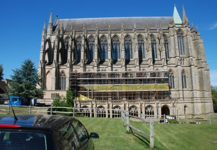 NJS Scaffolding for Lancing College Chapel