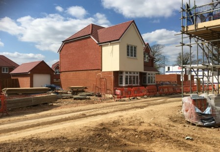 NJS Brickwork and Scaffolding for Bellway Homes, Littlehampton
