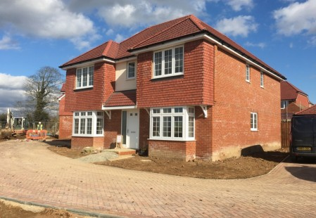 NJS Brickwork for Bellway Homes, Littlehampton
