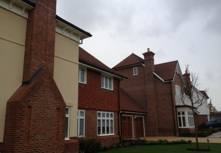 NJS Brickwork for Berkeley Homes in Horsham