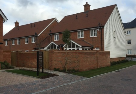 NJS Brickwork for Berkeley Homes, Horsham
