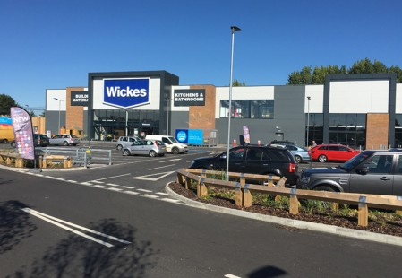 Commercial Brickwork for PPE Construction at Portfield retail park, Chichester