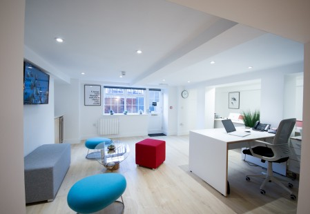 Hampshire Terrace, Office Renovation