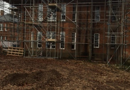 NJS Brickwork and Sacffolding for Linden Homes in Graylingwell, Chichester