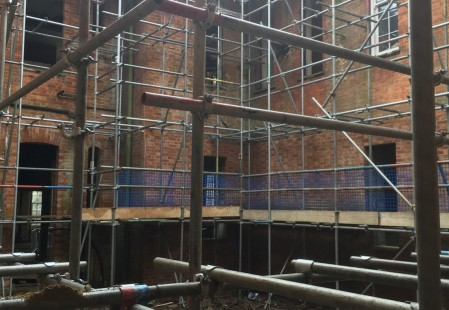 NJS Brickwork and Scaffolding for Linden Homes in Graylingwell, Chichester